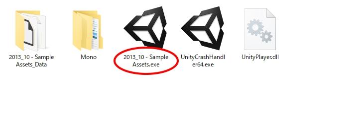 Unity:作ったゲームを配布形式にする(ビルドの仕方)
