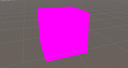 Unity:マテリアルをNoneにしたら変なピンク色になったときの対処
