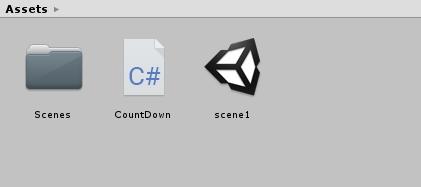 Unity:カウントダウンタイマーを作る