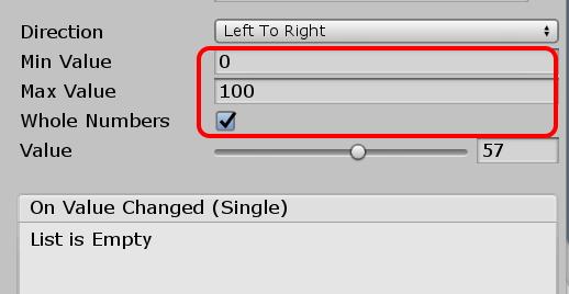 Unity:Sliderを使ってボスキャラのHPバーを表現するC#スクリプト